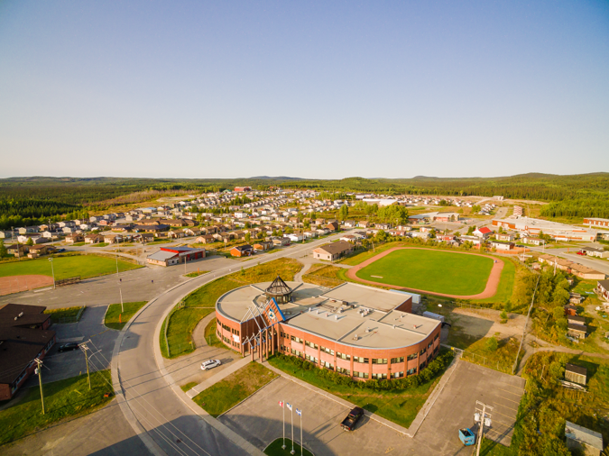 Overview of the Community on a Sunny day